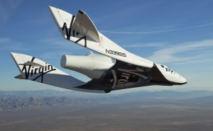 "Virgin Galactic's ""Spaceship 2"""