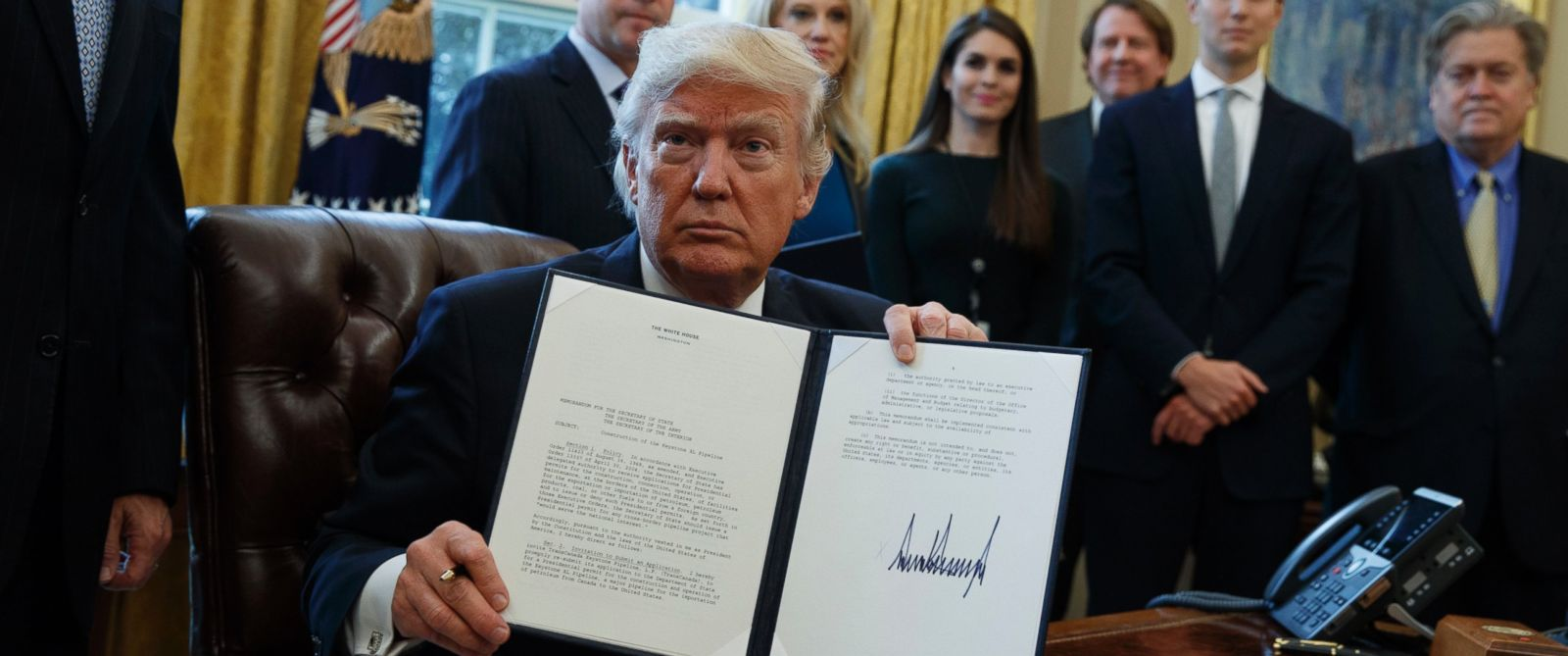 Trump signs off on XL Keystone Pipeline